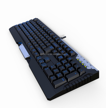 high endurance best Professional BacklitGaming Mechanical Keyboard with Laser Carving Keycaps
