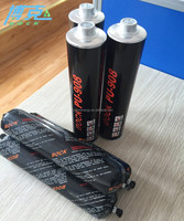 new hot pu/polyurethane glass sealant for car accessories black color