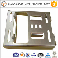 custom precision hardware garage door fitting plate / sheet metal stamping parts for pc/computer/cell phone