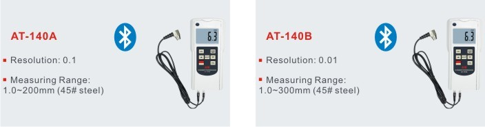 Digital Ultrasonic pipe thickness gauge AT-140A