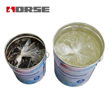HORSE hm-120m adhesives for Bonding Steel
