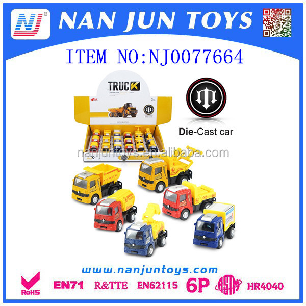 wholesale metal construction toy car for kids