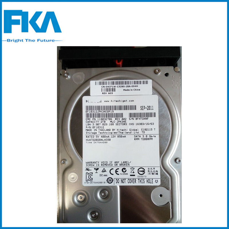 3.5 inch 2TB Server Hard Drive 005049059 7200Rpm SATA 3 Hard Drive