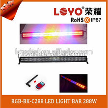 Wireless control car strobe light bar LED warning lamp head light flash 12V led strobe light controller