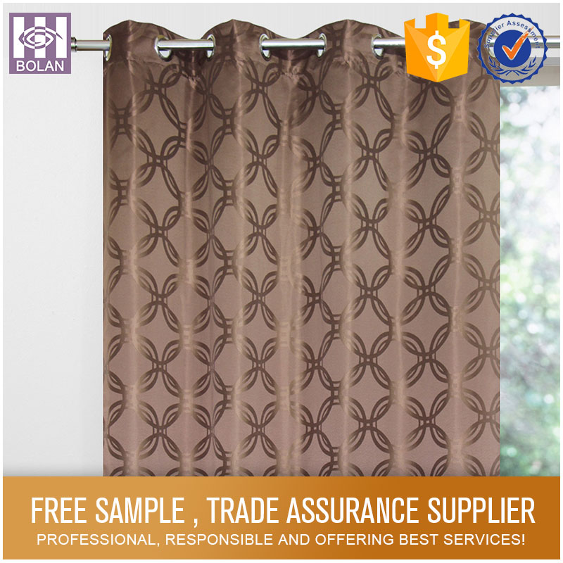 Polyester Waterproof Bathroom very cheap window curtain
