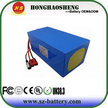 China customized brand 18650 48v lithium ion battery pack 30Ah with BMS
