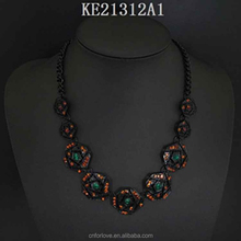 Micro usb cable necklace and usb flash drive necklace manufacturer,latest design jade jewelry for women A4044