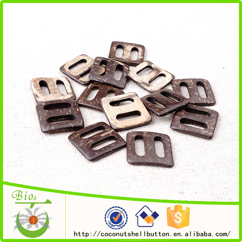 All kinds of natural coconut decorative shoe buckle