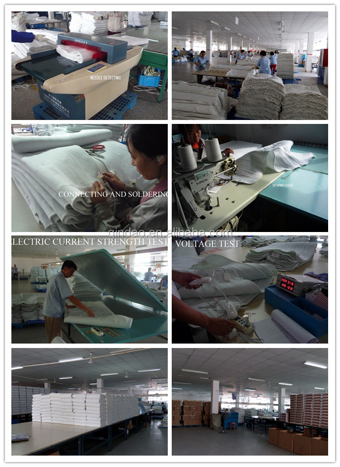 Hot CE/GS/CB/BSCI Approved Machine Washable Electric Thermal Blanket