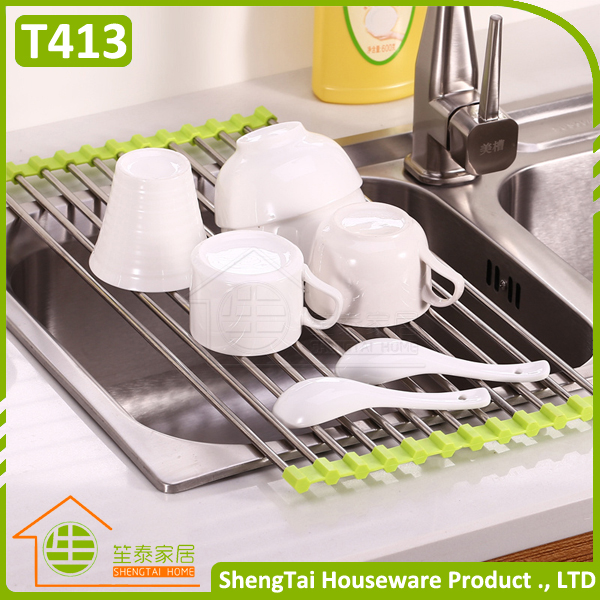 good packing adjustable wall mounted dish rack