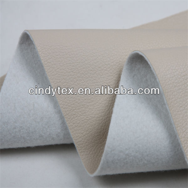 Cheap high quality embossing pu leather