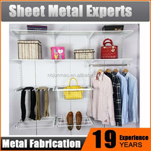 new adjustable metal shelf storage shelf metal DIY wardrobe closet warehouse storage shelf