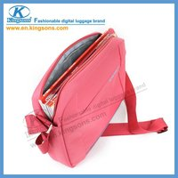 "Kingsons Latest Fashion Nylon 11.1"" Lady Notebook Laptop Computer Case for iPad Macbook"