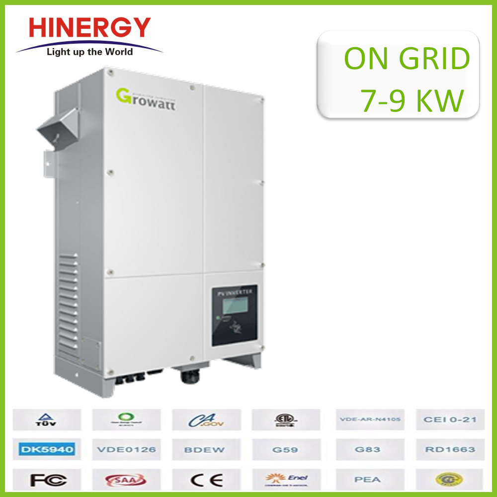 Hot Selling Solar Panel Inverter 9000w Growatt 7000w Ue 8000w Ue 9000w Ue