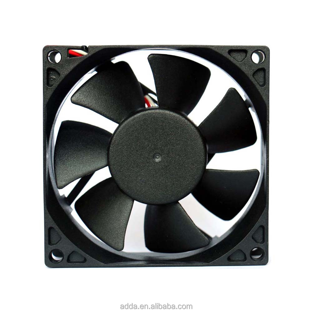ADDA 80*80*25mm projector 12v dc brushless axial cooling blower <strong>fan</strong>