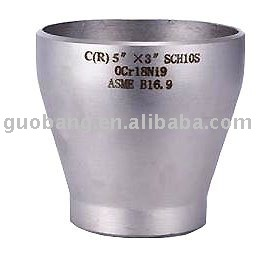 BW SMLS Conc. Reducer material AISI304