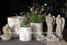 2016 ChaoZhou concrete flower pot planters / home decor garden decor