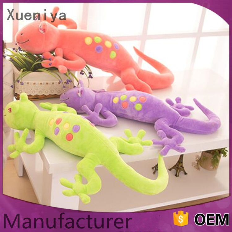 2016 Wholesale Cartoon Lizard Plush Toy Funny Custom Toy Animal