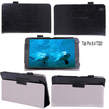 New PU Leather Case Stand Cover For Samsung Galaxy Tab Pro 8.4 inch Tablet