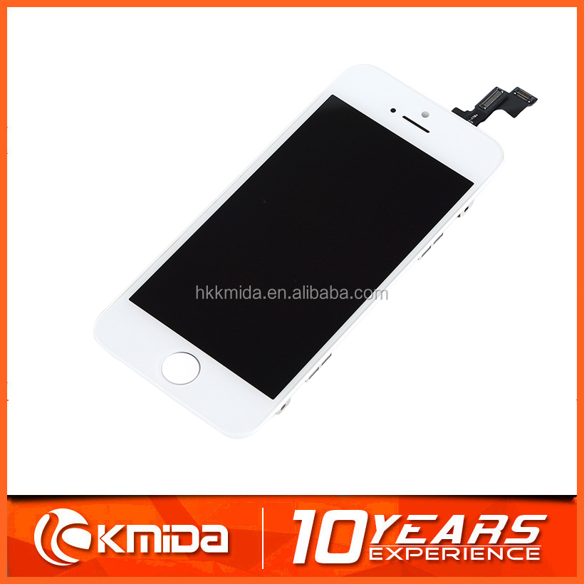 Factory Low price mobile phone spare parts LCD with digitizer complete for iphone 5s lcd