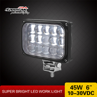 Auto accessory 3w bule led super bright led light atv 4x4 offroad led car headlight