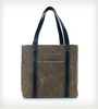 High Quality Custom Waxed Cotton Tote Bag