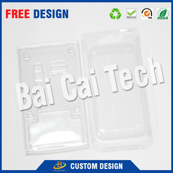 2016 Professional custom durable and recyclable ransparent plastic macarons blister tray