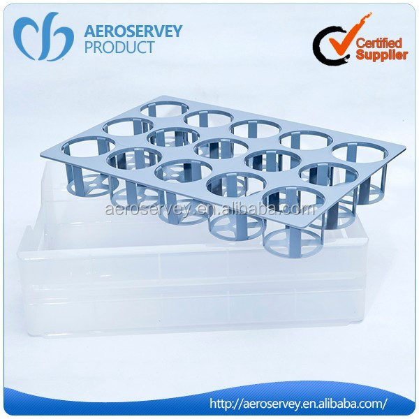 Wholesale new design silver airline product beer glass rack