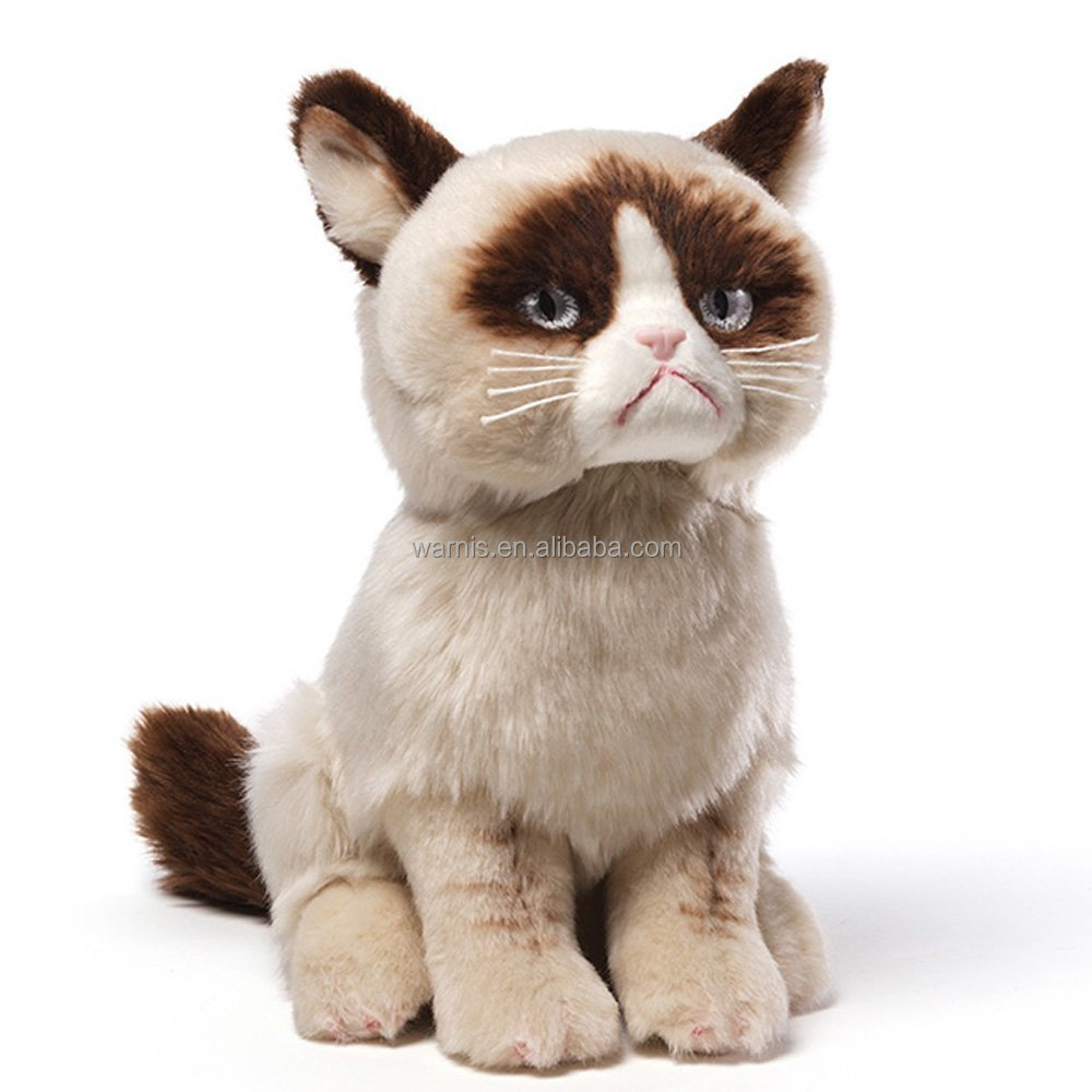 z0096 Grumpy Cat Plush Stuffed Animal Toy