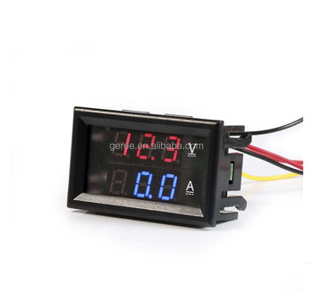 DC Digital Voltmeter Ammeter 0-100V 0-100A voltage current meter with shunt