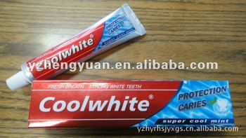 Coolwhite Toothpaste OEM toothpaste factory of 19 years