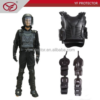 impact resistance body armor/flexible anti riot suit with NIJ standard