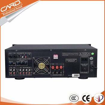 Low Cost 3 Channels Karaoke group home mixer