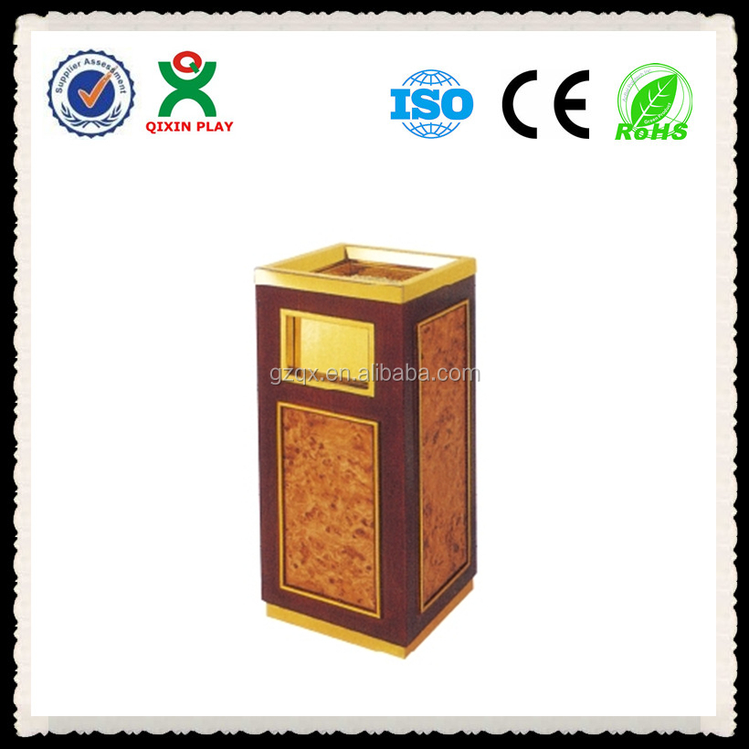 recycling bins for home/dustbin with ashtray/kitchen waste bins QX-147J