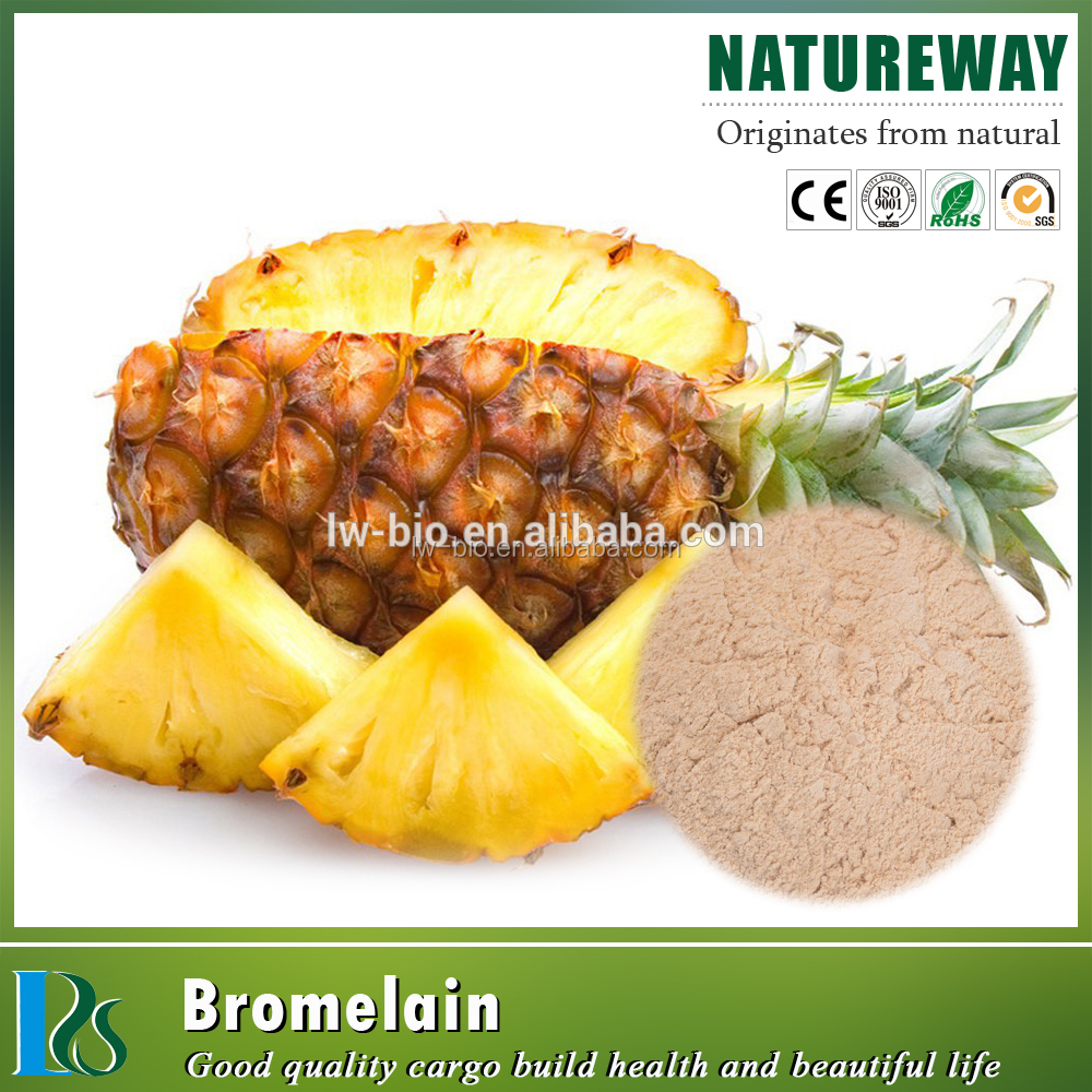 Stem Bromelain, high quality pineapple extract powder, used for Skincare, skin beauty