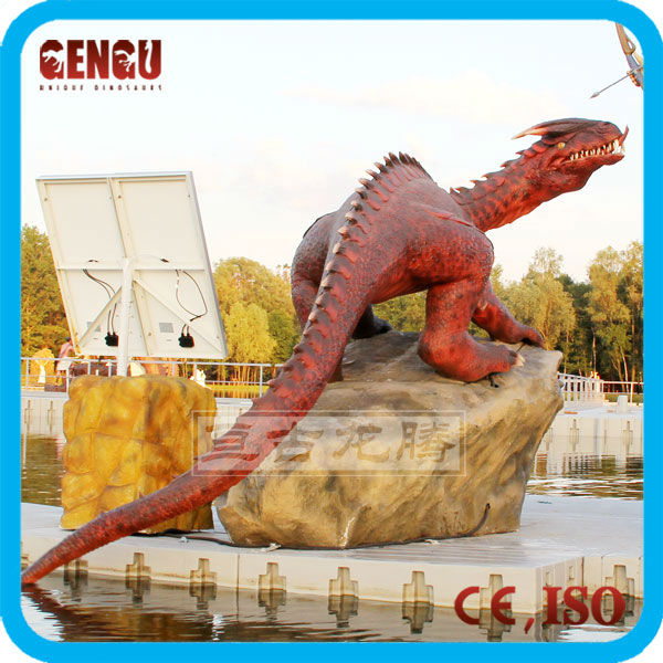 Chinese manufacturer decoration red dragon
