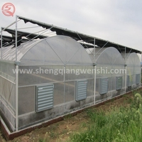 2017 China Agriculture Farming Plastic Greenhouse