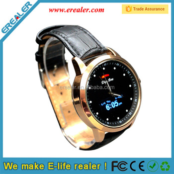 Quartz Watch with Bluetooth and date display caller ID dispay