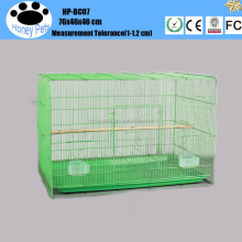 Wholesale chiken parrot pvc breeding bird cage.