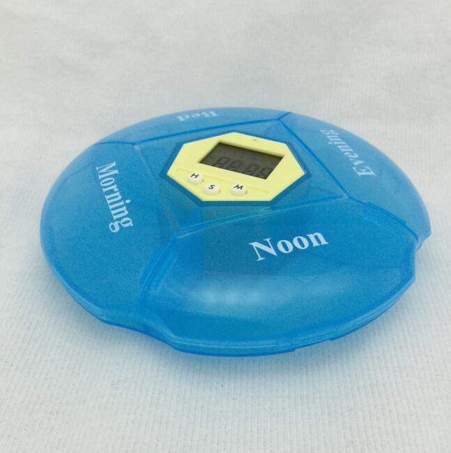 Vibration and Voice record pill box reminder record your message to be reminder alarm