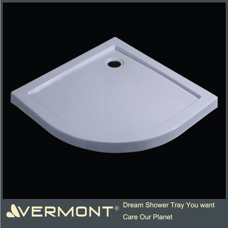 ABS fiberglass shower tray deep