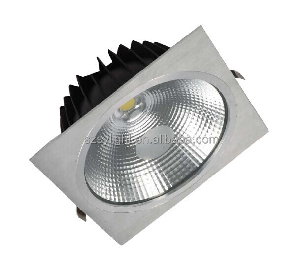 IP44 IP65 8w 12w 15w cob 5inch cutting 125mm square led <strong>downlight</strong>