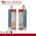Fixing system chemical anchoring adhesive 3:1 repair mortar epoxy resin anchors