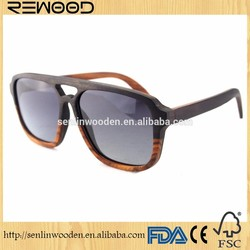 recycled skateboard wood sunglasses eco-friendly skateboard wood eyewear design colorful frame