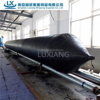 luxiang brand 1.0*15m lifting pneumatic marine airbag for ship launching
