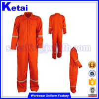 Plus Size Orange safety coal mine flame retardant workwear