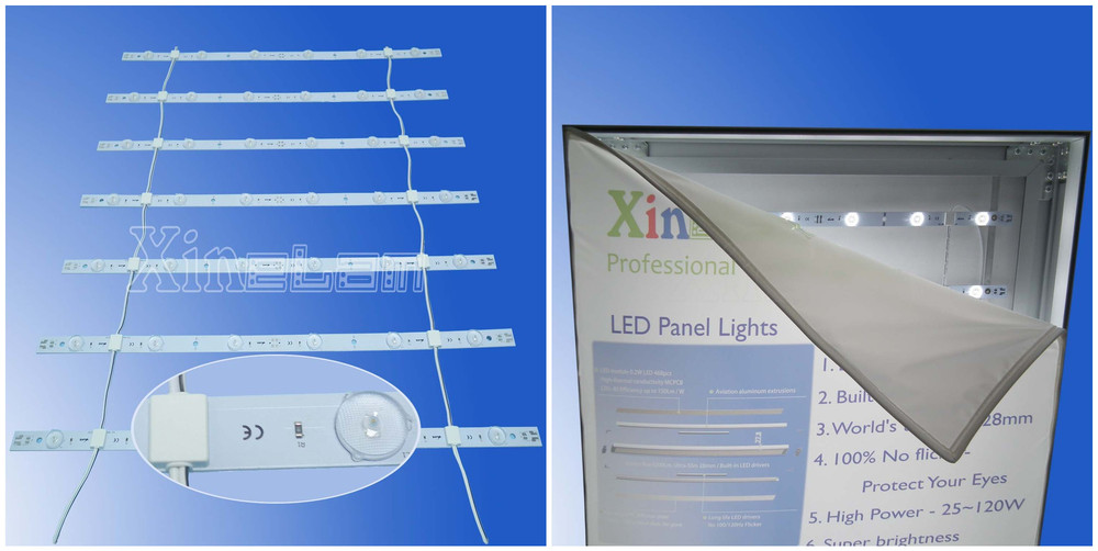 Signage displays flexible rgb led sheet led curtain strip backlight