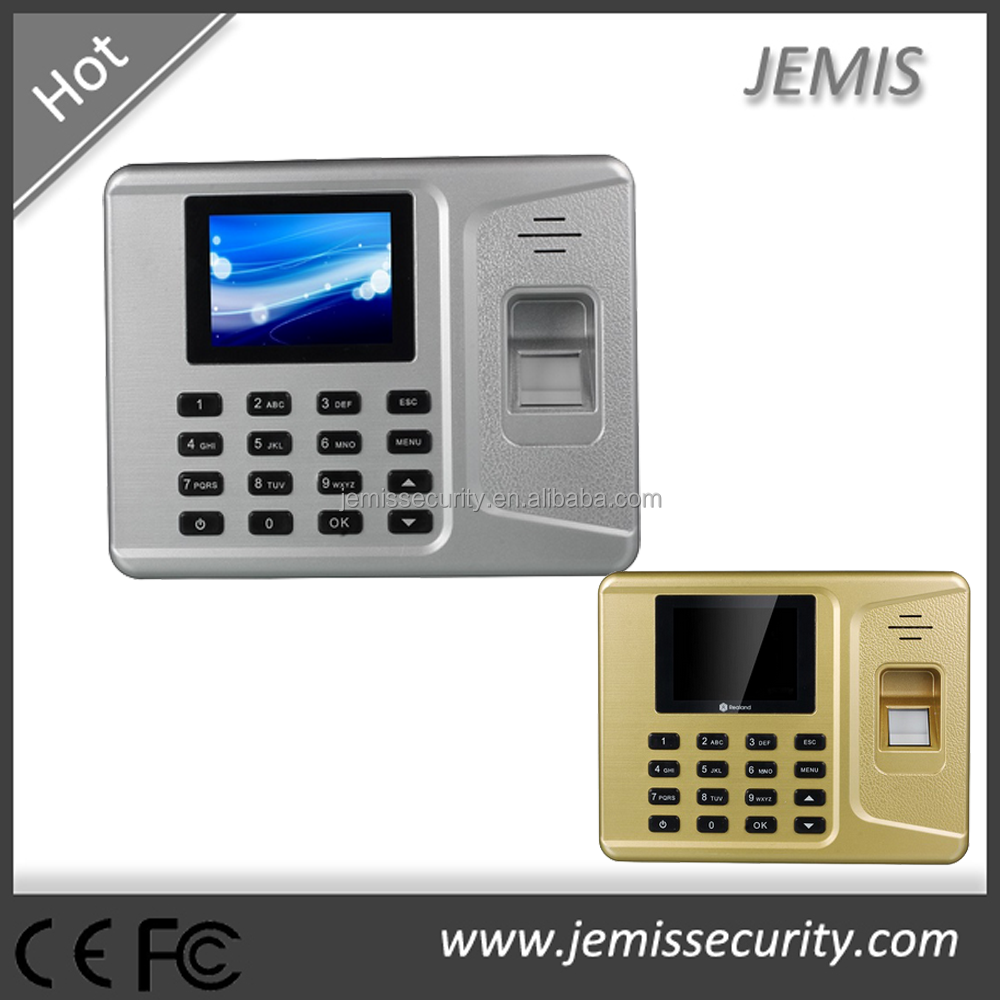 Realand cheaper TCP/IP Web USB Host biometric fingerprint time attendance device
