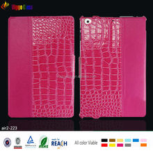 Croc print Pu Leather Case for iPad air 2