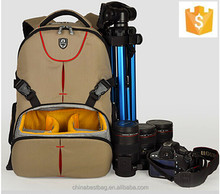 Durable SLR camera backpack waterproof multifunction camera bag